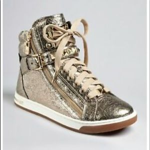 MICHAEL MICHAEL Kors Glam Studded Hightop sneakers